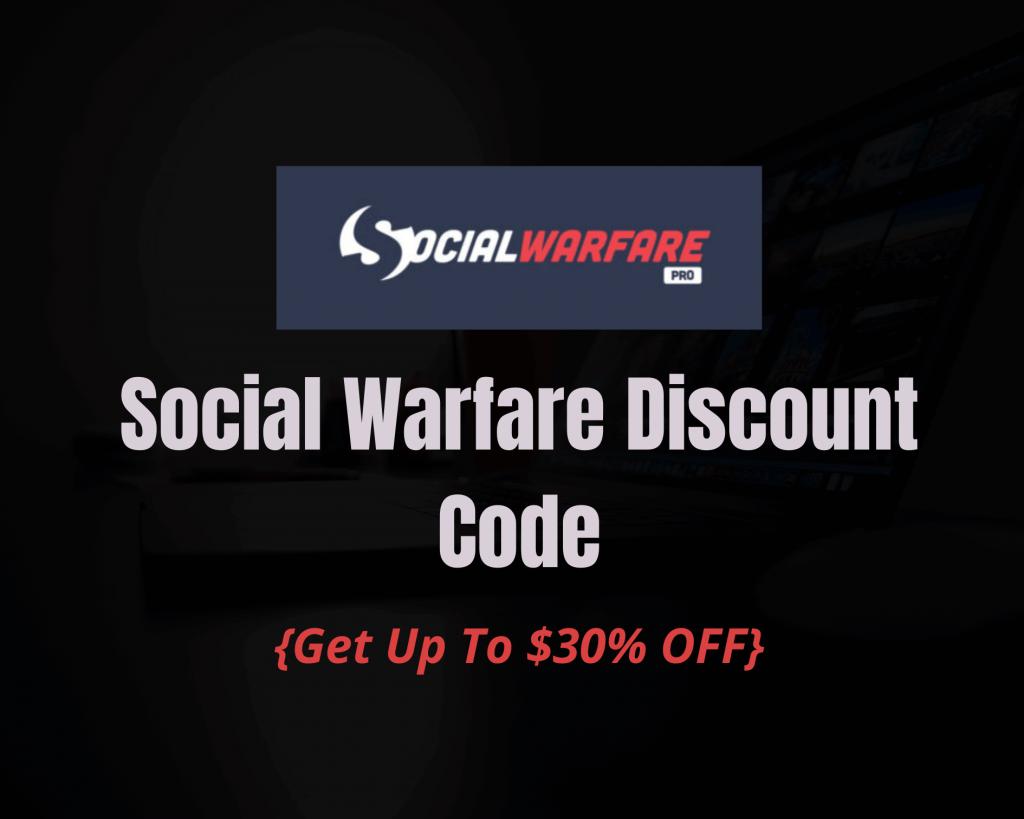 Social-warfare-discount-code